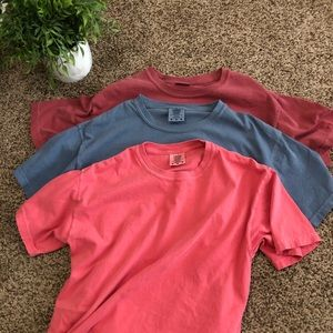 Set of 3 comfort color tees ❤️